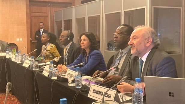 Luxembourg Rail Protocol presented at UNECA High Level Side Event in Marrakech